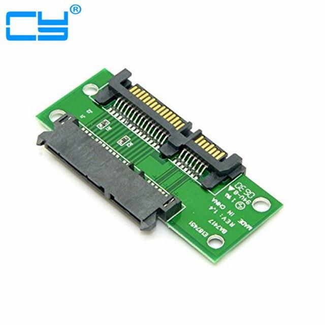 """3.5"""" & 2.5 inch SATA 22Pin 7+15 Male to SATA 22P Female Extension Convertor Adapter PCBA"""