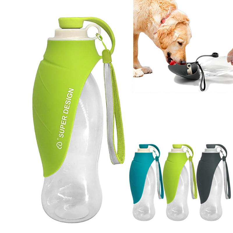 580m'l Sport Portable Pet Dog Water Bottle For Small Large Dogs Travel Puppy Cat Drinking Bowl Outdoor Pet Water Dispenser
