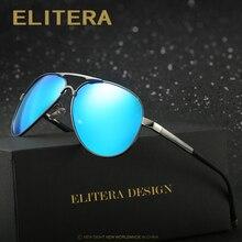 ELITERA Brand Design Men Classic Sunglasses HD Polarized Sun glasses Luxury Eyewear Driving Fishing Outdoor Shades UV400