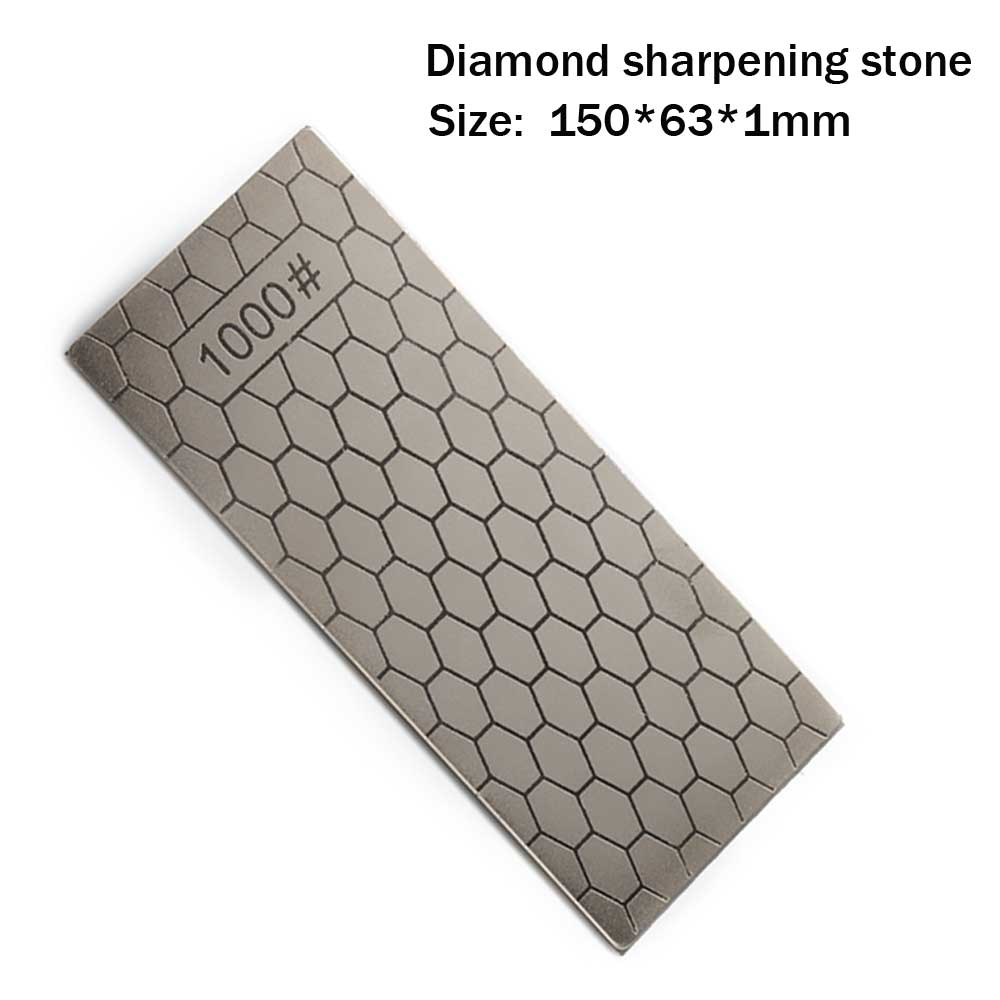 <font><b>1000</b></font> mesh diamond sharpening stone honeycomb type grindstone kitchen tool, carpenter's chisel, jade, seal cutting YS017 image