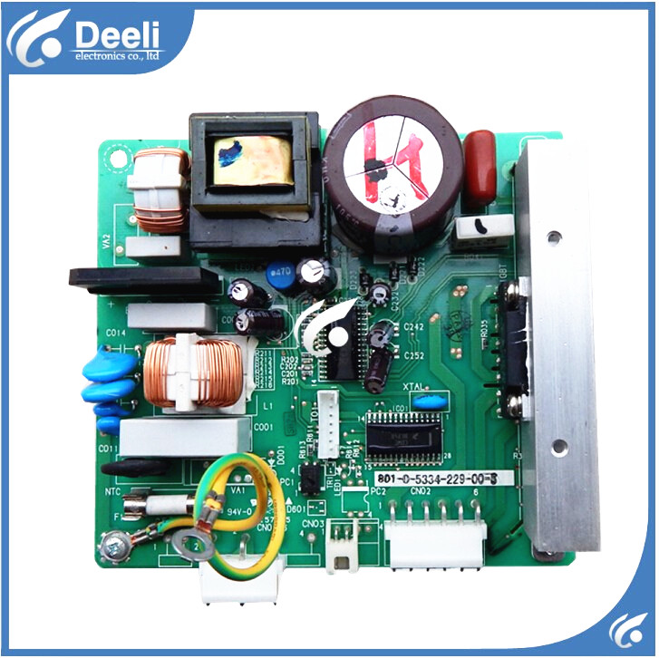 95% new good working for refrigerator module board frequency inverter board driver board 0064000385 801-0-5334-229-00-3 95% new for haier refrigerator computer board circuit board bcd 198k 0064000619 driver board good working