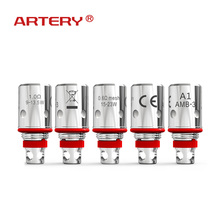 ARTERY PAL II Coil Vape 5 PCS 0.1 ohm MTL/ 0.6 ohm Mesh Coils Replacement Atomizer Core for Pal 2 Pod Kit Electronic Cigarettes катушка индуктивности jantzen air core wire coil 1 00 mm 0 15 mh 0 193 ohm 1206