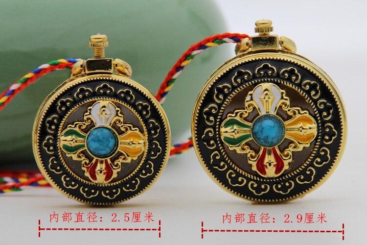 Aço titanium, navio budista tibetano, gawu lotus