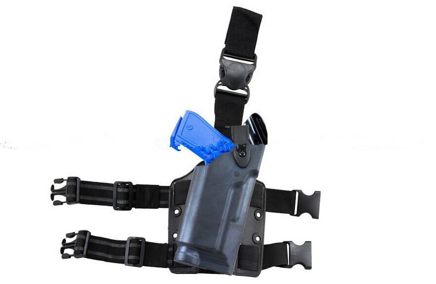 EMERSON Tactical DropLeg Holster for Beretta M92 Airsoft With Flashlight Holster BD2293