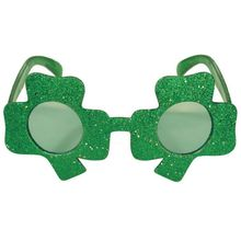 Lucky St. Patricks Day Green Hat Headband Lucky Grass Glasses Irish Traditional Festival Decorations