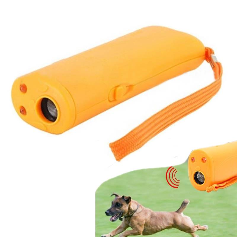 3 In 1 Anti Barking Pet Dog Training Bark Stop Dog Pet