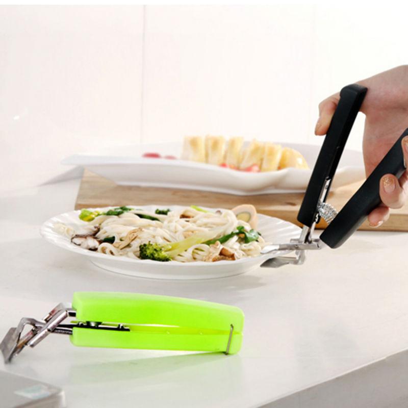 1PC Cuisine Bol Clip Anti Plaque Chauffante Pan plat Clip Holder Home Table outils