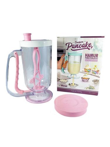 Super Pancake Maker  Cupcake Pancake Batter Dispenser Muffin Helper Mix Pastry Jug Baking Tools Maker