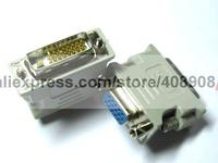 8 Pcs Connector for Male DVI to Female SVGA VGA DB15 24 1
