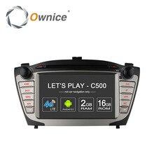 Ownice c500 4g sim lte für hyundai ix35 tucson 2009-2015 android 6,0 4 Core 2 din auto dvd gps radio 2 GB RAM 16 GB unterstützung DAB +