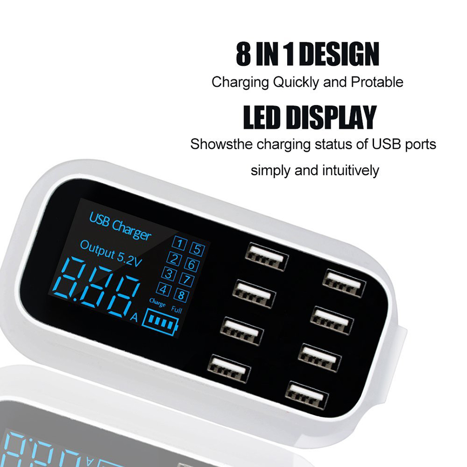 Excellent USB Charger Station for load several devices (3)