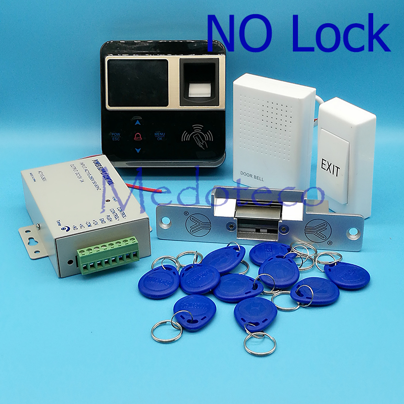 Full Kit Fingerprint & Rfid Card Access Control Fingerprint Door Access Control System Door Access Controller Door Lock M-F211