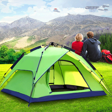 3-4 Person 180*210*130CM Double Ultralight Camping Tent Waterproof Automatic Tents Outdoor Climbing Fishing