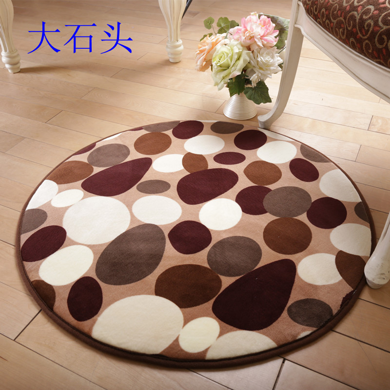 Factory direct living room bedroom bedside round carpet non slip Fitness Yoga Mat