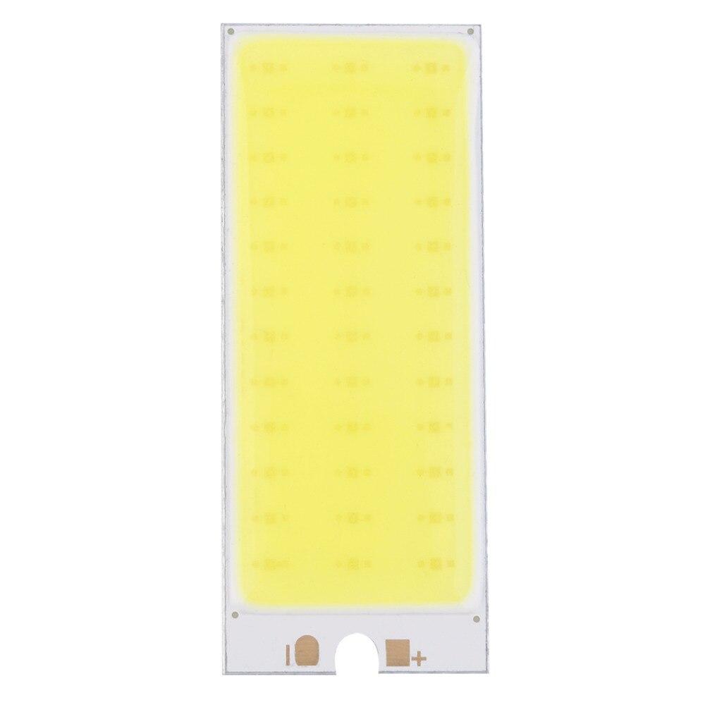 Новое поступление 2017 года 36 COB светодиодный чип Панель лампы 220ma 12 В салона лампа настольная ночник для DIY, теплый белый/белый