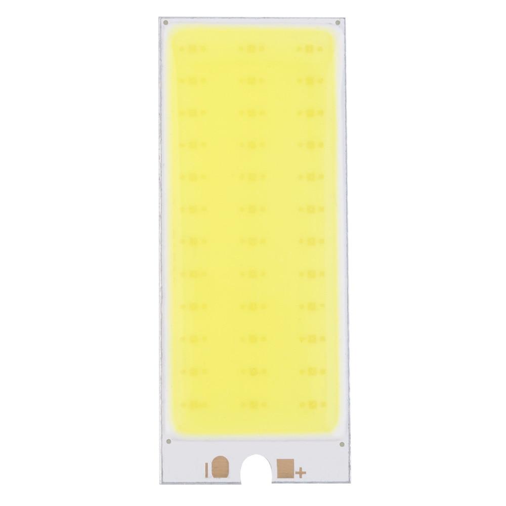 2017 New Arrival 36 COB LED Chip Panel Bulb 220mA 12V Car Interior Lamp Reading Night Light For DIY, Warm White/Pure White