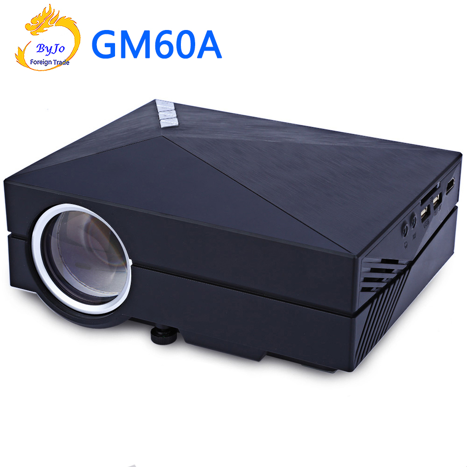 GM60A Hand-held projector Max 1920x1080 HDMI Multichip Coated lens 1000 lumens Connect wifi multi-screen interaction