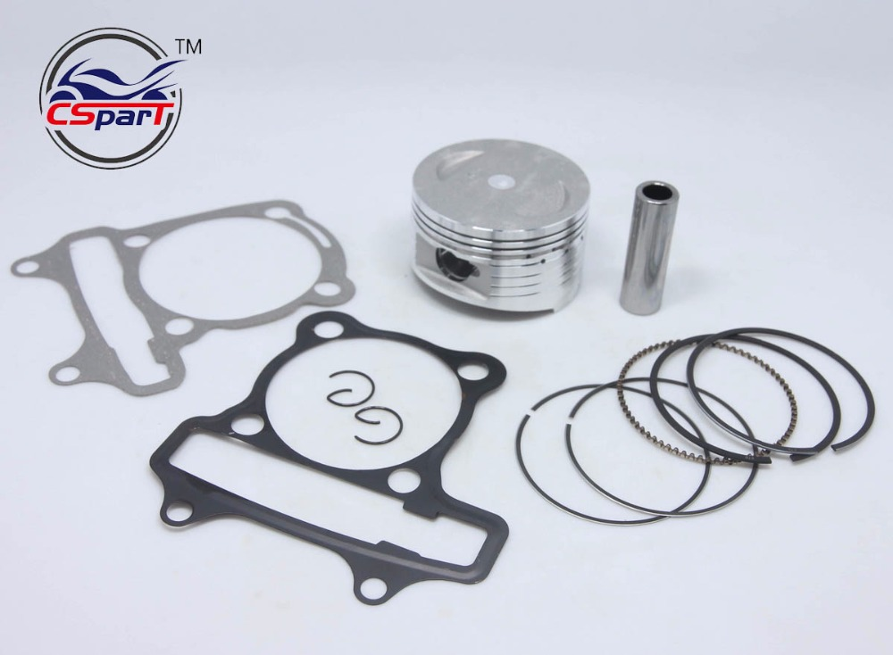 Performance 63MM Piston Ring Kit GY6 180CC Quad ATV Go Kart Buggy Scooter Parts