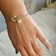 Женский браслет с подвесками в богемном стиле золотистый серебристый