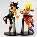 2Styles Dragon Ball Z Resurrection F Super Saiyan Son Gokou Bardock PVC Action Figure Collectible Model Toy 23cm