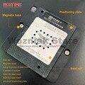Wozniak SSD solid state disk USB stick BGA132 BGA152 NAND Flash IC magnetische zinn anlage Reparatur Stahl net