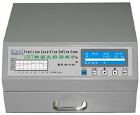 Прецизионная Бессвинцовая печь Reflow 600 Вт настольная автоматическая паяльная плита для SMD SMT переделка спайки площадь QS 5100 * 230 мм 180