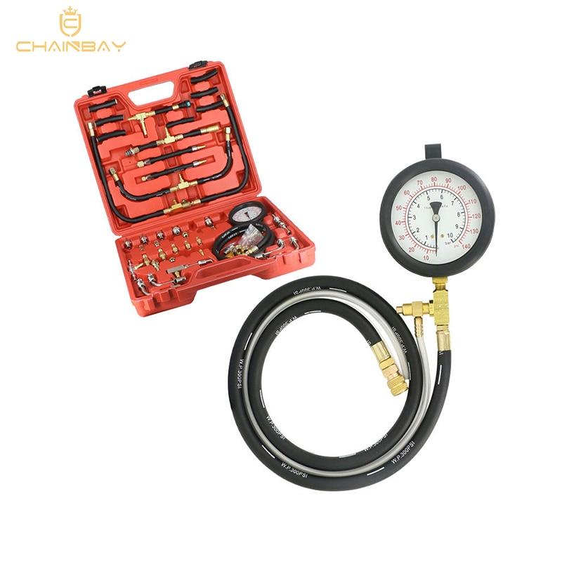 High quality TU-443 Deluxe Manometer Fuel Pressure Gauge Engine Testing Kit Fuel Injection Pump Tester
