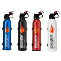 Mini Portable Car Fire Extinguisher with Hook Dry Chemical Fire Extinguisher Safety Flame Fighter for Home Office Car
