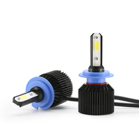 2Pcs Auto H4 LED H7 H1 H3 9006 HB4 H8 H3 9005 HB3 Car Headlight Bulbs