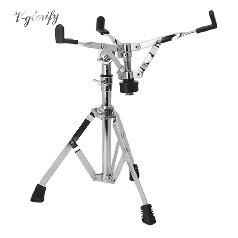 Lightweight Snare Drum Stand multiple triangle-bracket metal percussion