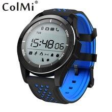 Colmi smartwatch Браслет F3 шагомер пробег калорий УФ Monitores вызова Сообщение Напомнить удаленного Камера для Android IOS телефон часы