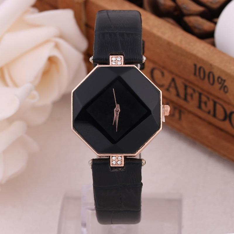 Relogios 2018 New Hot Sale Fashion Delicate Small Dial Geneva Women Casual Leather Quartz Watch Women Holiday Gift  Reloj Mujer