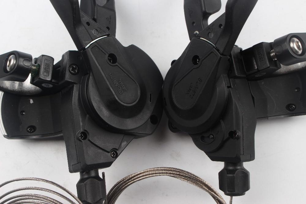 specialist Trigger//shifter opt Gear indicator Shimano Deore SLX SL-M670 Set 2//3x10