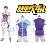 Anime Yowamushi Pedal Kyoto Fushimi Cosplay Costume Short Sleeve Full Set T shirt