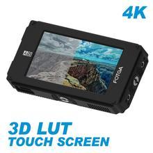 """FOTGA DP500IIIS A50TL """" 1920x1080 FHD видео накамерный сенсорный экран полевой монитор 3D LUT HDMI 4K вход/выход для A6500 GH5/5S"""