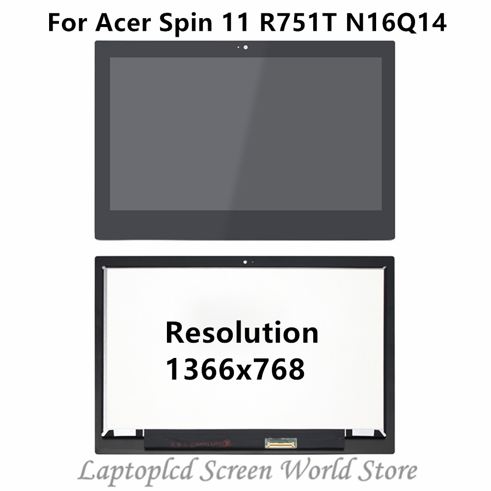 FTDLCD 11 6 HD LCD Touch Screen Digitizer Replace Laptop Assembly Bezel For font b Acer