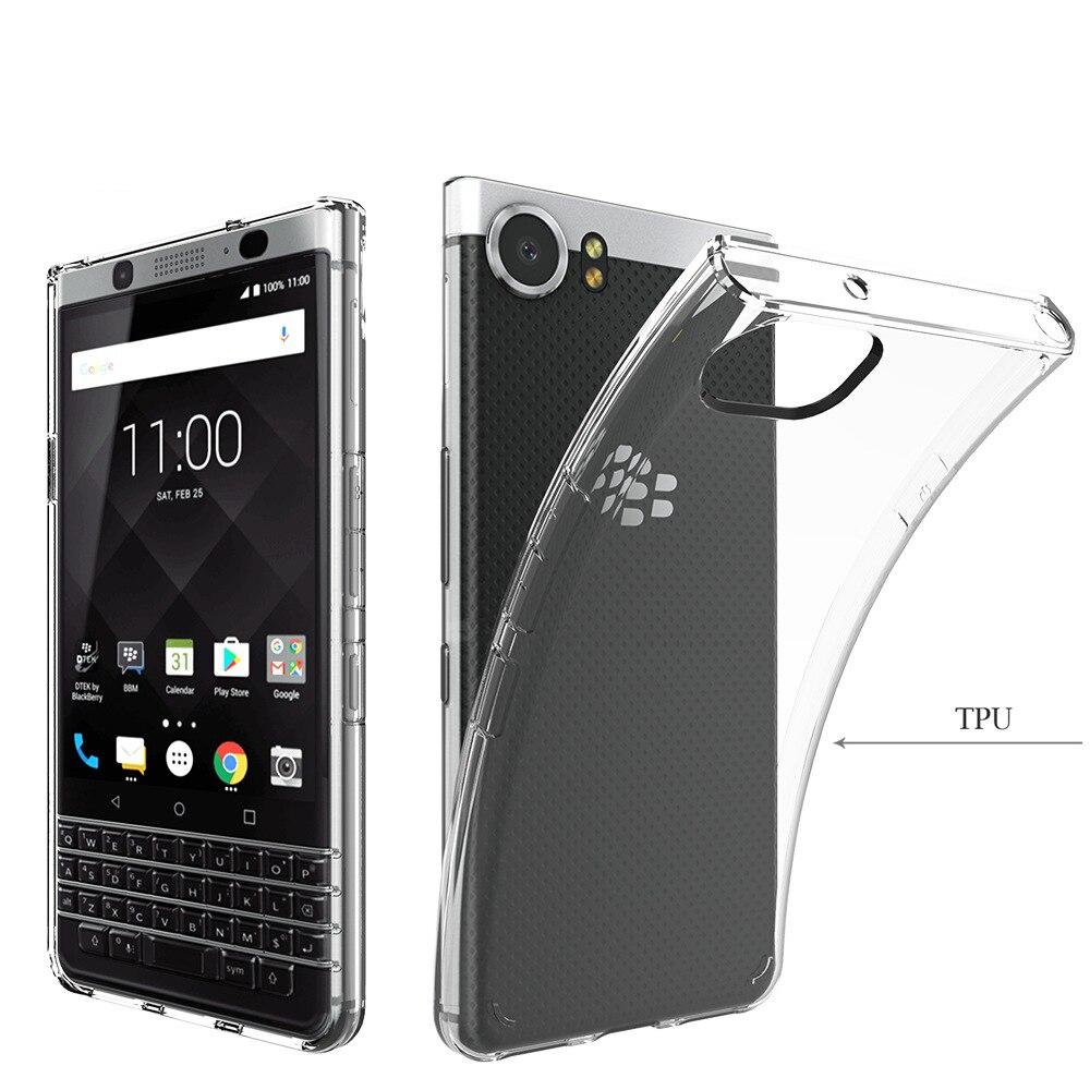 Прозрачный Кристалл Мягкий ТПУ очистить кожу случае ультра тонкий чехол для blackberry keyone/mercury/DTEK70