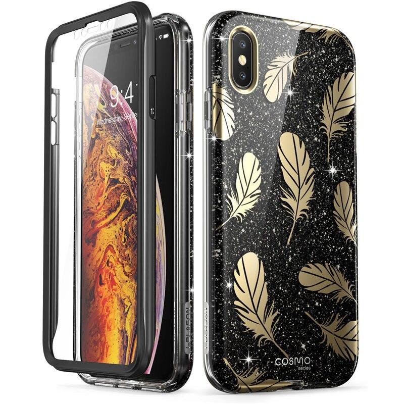 i Blason For iPhone X Xs Case Cosmo Series Full Body