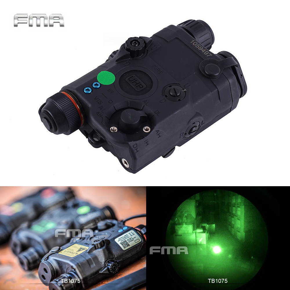 FMA PEQ LA5-C boîte de batterie de fusil Version de mise à niveau Laser LED lumière blanche + Laser vert avec lentille IR accessoire de pistolet de chasse tactique