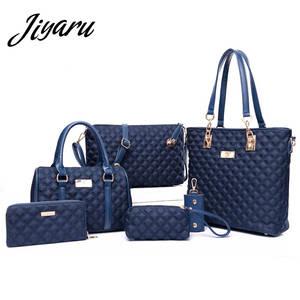 79b08e4a76 top 10 most popular 6 pcs women handbag famous brands