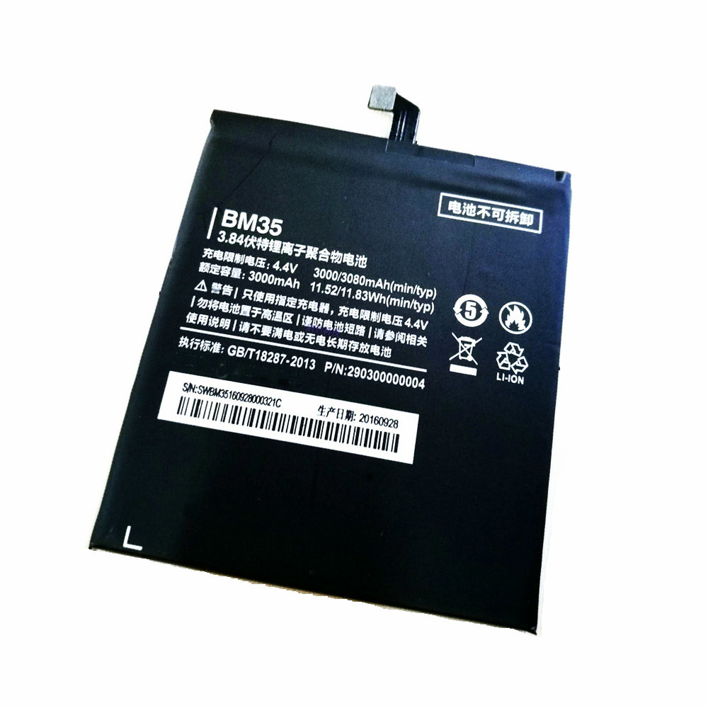 Usb cable + New High Quality 3000mAh-3080mAh <font><b>BM35</b></font> <font><b>Battery</b></font> for Xiaomi 4c Mi4c Mi 4C Cell phone