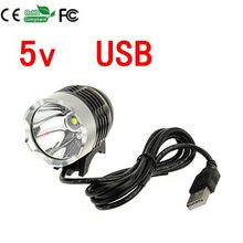 NEW 2000LM CREE XM-T6 USB LED Bicycle Headlight Waterpoof Bike Light Lamp Cycling Bike Bicycle Front Light & USB