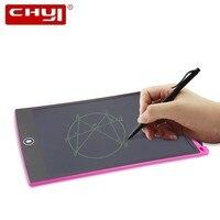 CHYI цифровая электронная бумага ЖК-планшет для письма 8,5 дюймов беспроводная сенсорная панель электрическая доска для детей пластина для ри...