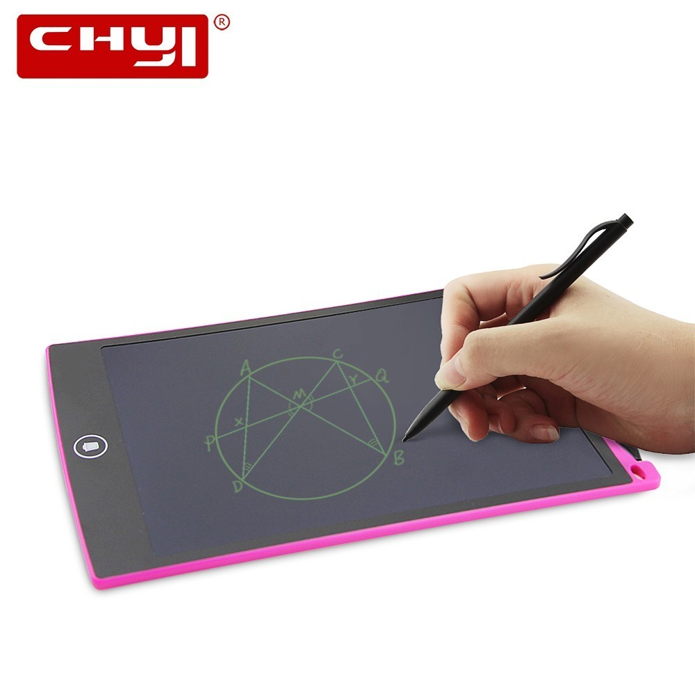 CHYI Digital Epaper LCD Writing Tablet 8.5 Inch Wireless Touchpad Electric Kids Board Plate For Drawing Magic Trackpad Memo Pad