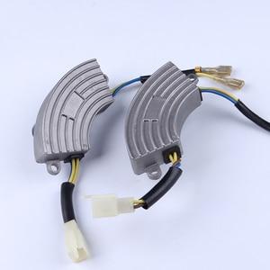 Image 5 - 2.5KW single phase avr aluminum case 220v gasoline High Quality generator part voltage regulator protector Stabilizer 250v220uf