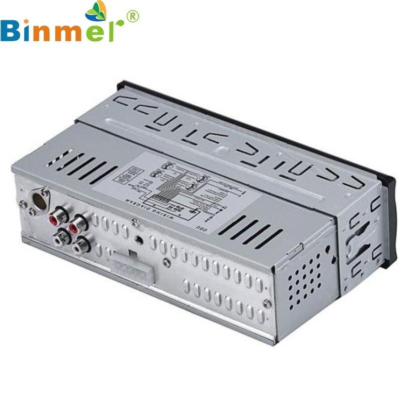 Binmer A18 NEW Mecall In Dash Car Audio Bluetooth Stereo Head Unit MP3 USB SD MMC