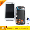 4.8 polegada da tela de lcd para samsung galaxy s3 i9300 lcd screen display toque digitador assembléia com quadro + filme