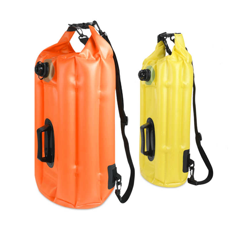 8090a8e7ff Inflatable 18L 28L Swim Buoy Swimming Bubble Floating Dry Bag For Safe  Swimming Kayaking Water