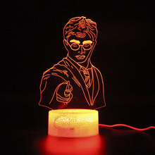 Harry Lamp Remote Control 3d Table Lamp Touch Led Light Kids Bedroom Decoration Night Light цена и фото