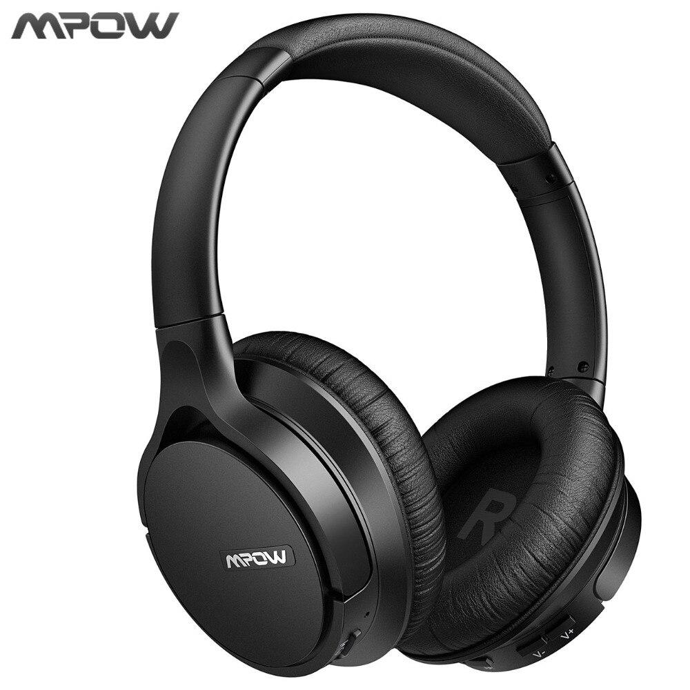 Mpow New EQ+APP Bluetooth 4.2 Wireless Headphones With Mic APTX Headset Earphone